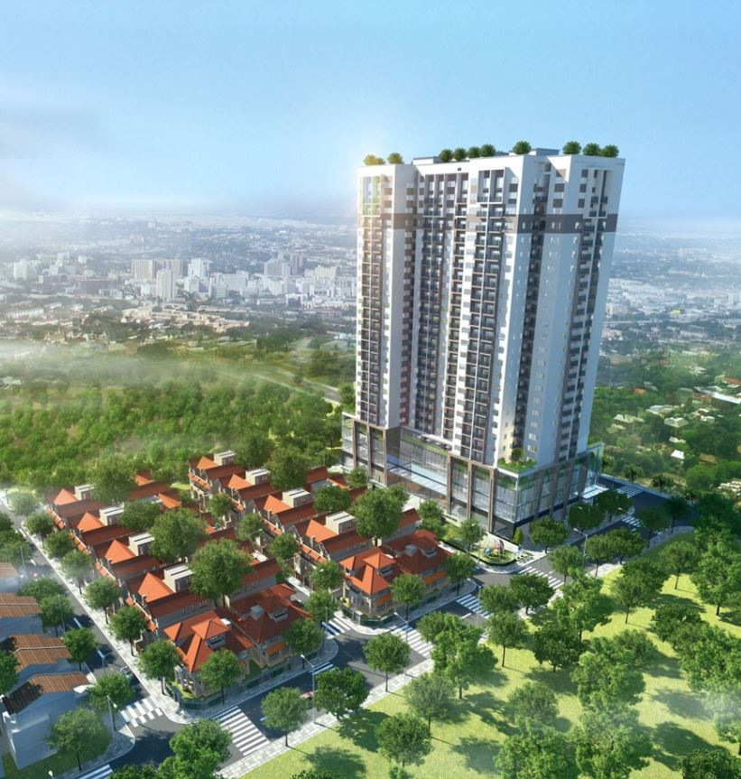 Phoi canh Thanh Xuan Complex Hapulico 24T3